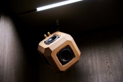 image of customized speakers for public space Taguchi 4